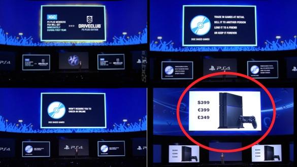 Sony's slides