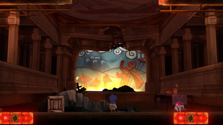 One of Teslagrad puppet shows